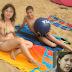 Desaliñada! Andreina Tarazon en la playa reñajada imagen filtrada (FOTO)
