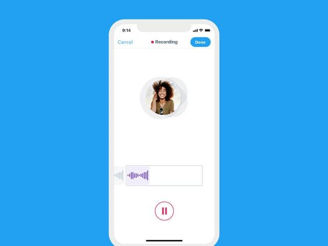 تويتر يختبر ميزة الرسائل الصوتية في الرسائل المباشرة