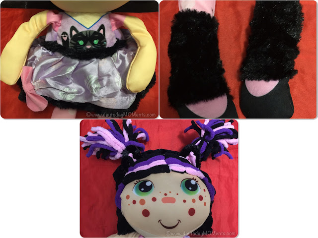 review plush dolls 2 in 1