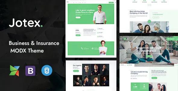 Best Insurance MODX Theme