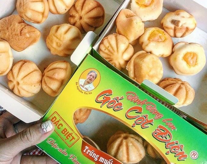 Thưởng thức bánh bông lan trứng muối - đặc sản Vũng Tàu 'hút' mọi du khách
