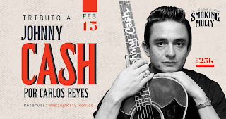 Concierto tributo a Johnny Cash por Carlos Reyes