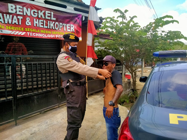Mencegah Adanya Pelaku Tindak Kriminal, Samapta Banyumas Gelar Operasi Premanisme