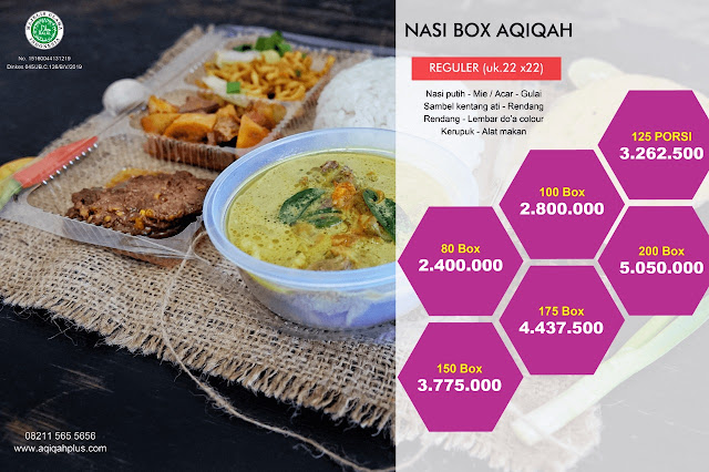 Catering Aqiqah Semarang Yang Terkenal Enak, Dapat Souvenir Dan Gratis Ongkir