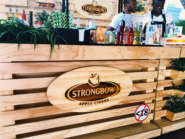 Strongbow Urban Orchard bar: Cape Town Edition