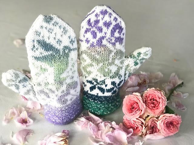 sweet nectar mittens