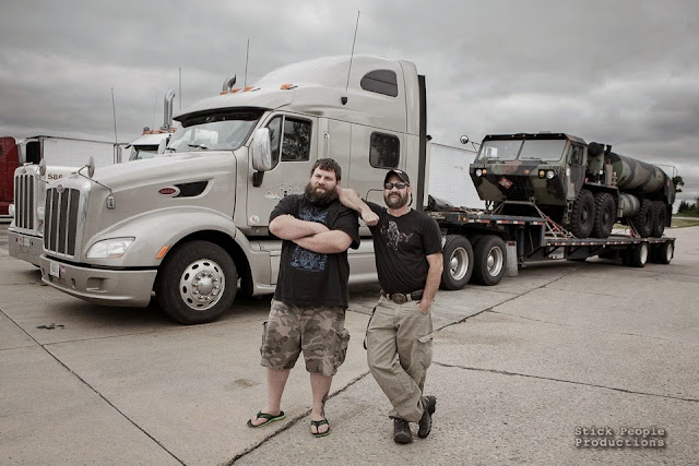 Over The Road Truck Drivers - Kelly Doering, Photographer