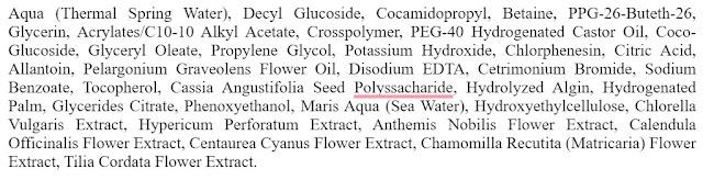 ingredients cleansing gel clinelle
