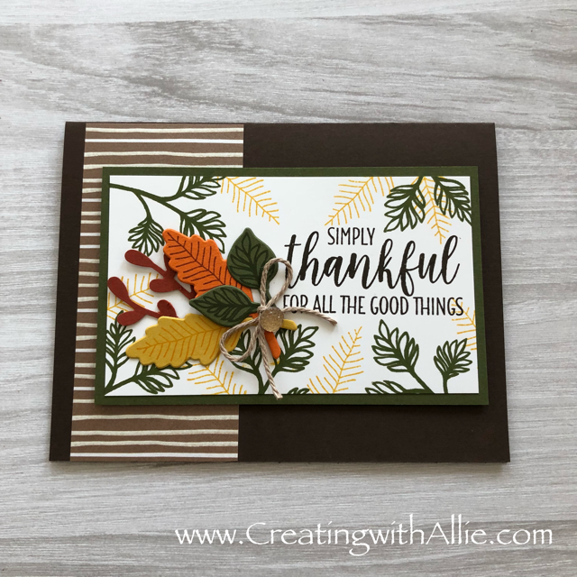Check out this post to get some tips on how to come up with ideas to create cards when you dont feel creatinve all!!!  www.creatingwithallie.com #stampinup #alejandragomez #creatingwithallie #videotutorial #cardmaking #papercrafts #handmadegreetingcards #fun #creativity #makeacard #sendacard #stampingisfun #sharewhatyoulove #handmadecards #friendshipcards