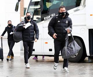 El equipo de Zidane ya descansa en Malaga