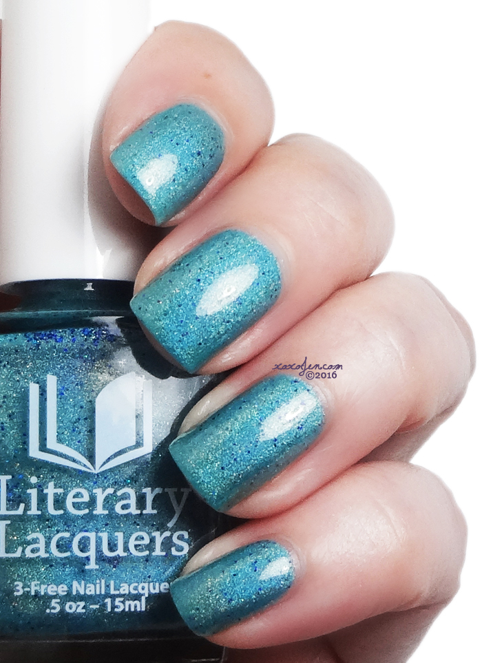 xoxoJen's swatch of Literary Lacquers Oh Calamity!