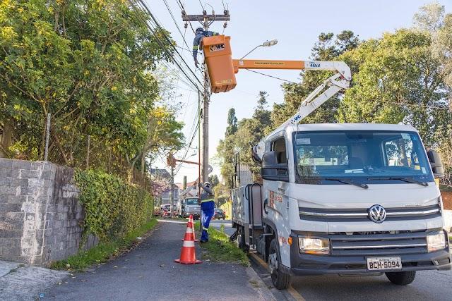Copel promove mutirão de manutenção e limpeza de redes neste sábado