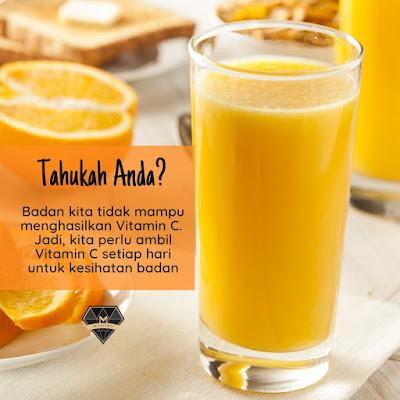 Perbezaan Vitamin C Shaklee (Vita-C Plus dan Chewable C Plus)
