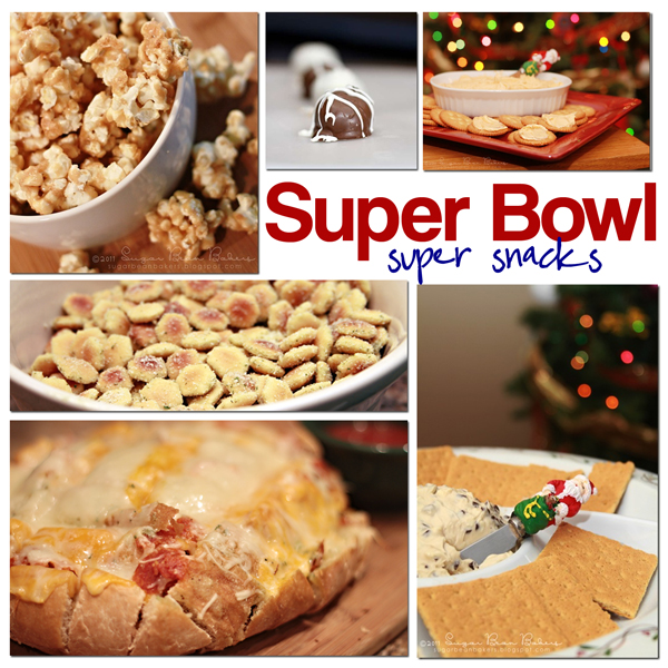 Sugar Bean Bakers: { Super Bowl Snacks }
