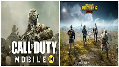 Difference between PUBG Mobile and Call of Duty Mobile