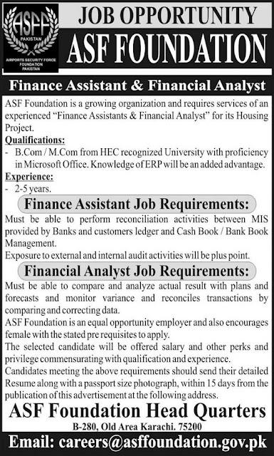 asf-foundation-pakistan-jobs-2020
