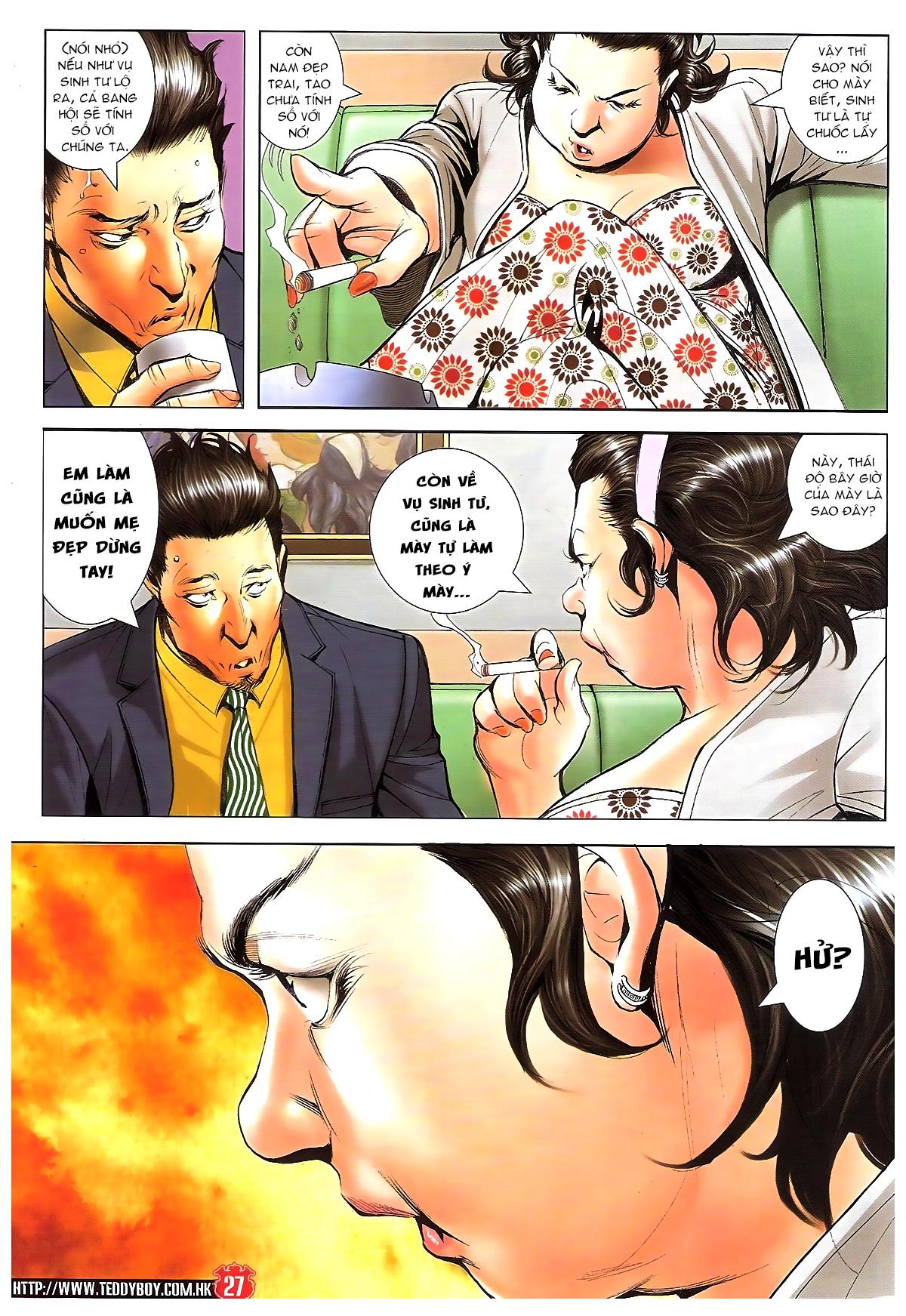 Người Trong Giang Hồ chapter 1648: tự tìm đường chết trang 25