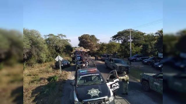 Domingo de balaceras en Apatzingán , Michoacán Estatales son atacados por Sicarios e inmediatamente Guardia Nacional y Ejercito Mexicano se suman a la búsqueda y rastreo