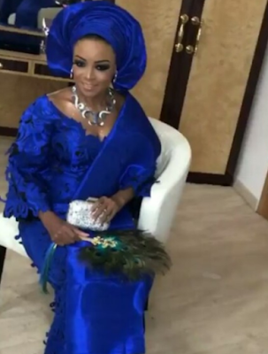Photos of Billionaire daughter of Globacom chairman, Mike Adenuga, Oyinda at her traditional wedding