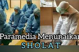 Begini Cara paramedis Sholat