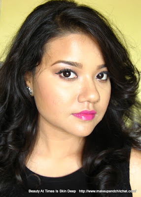 Fuchsia Lip makeup with L'oreal Paris India