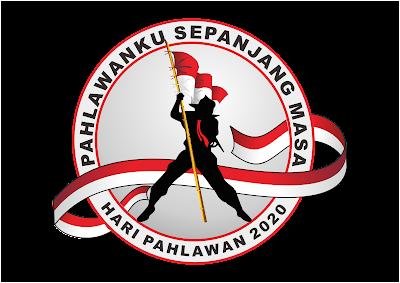 Logo Hari Pahlawan 2020 PNG