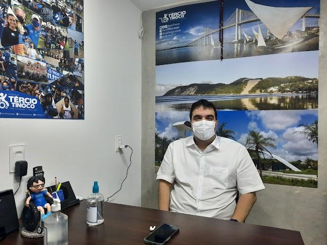 """TÉRCIO: """"Defendo a candidatura de Paulinho Freire a deputado federal"""""""