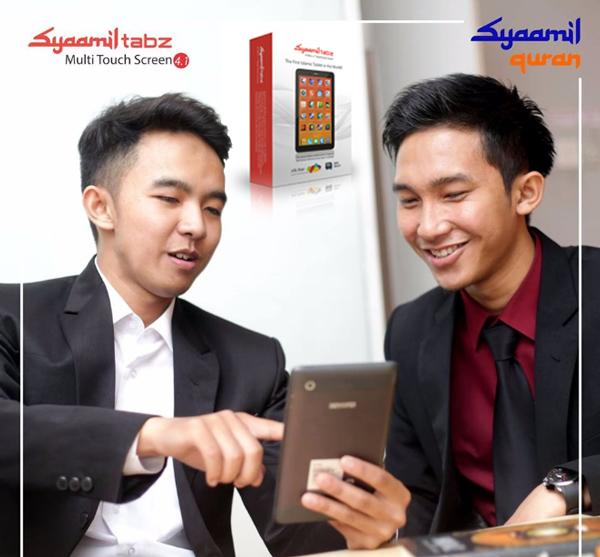 Syaamil Tabz: Smartphone dengan Built-in Islamic Content yang super lengkap