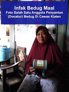 infak bedug maal donatur di cawas