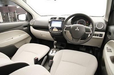 Fitur Dan Interior Mitsubishi Mirage
