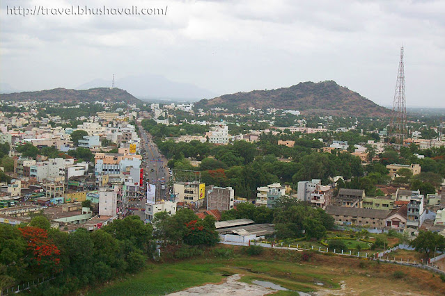 View from Namakkal Fort