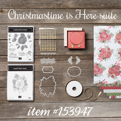 Christmas is Here Suite - Stampin' Up!'s Christmastime is Here Medley - item #153947