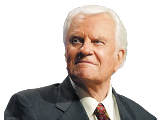 Billy Graham's Daily 14 July 2017 Devotional - An Upside Down World