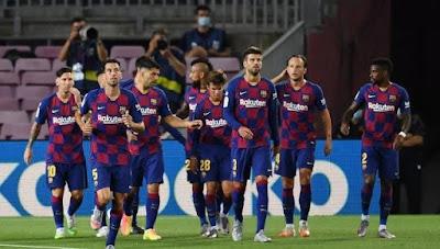 برشلونة ضد نابولي .. MSG يقود هجوم البرسا بمواجهة دوري أبطال أوروبا