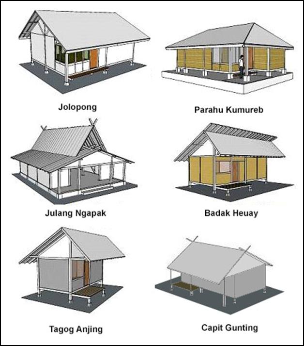 desain rumah tradisional sunda: Denah rumah adat jawa barat denah rumah adat jawa barat