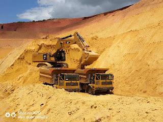 xe tải mỏ LGMG cỡ lớn