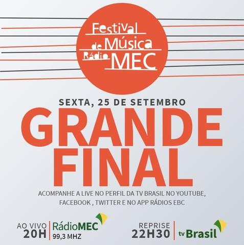 Nesta sexta (25) - Festival de Música Rádio MEC 2020 anuncia vencedores em live