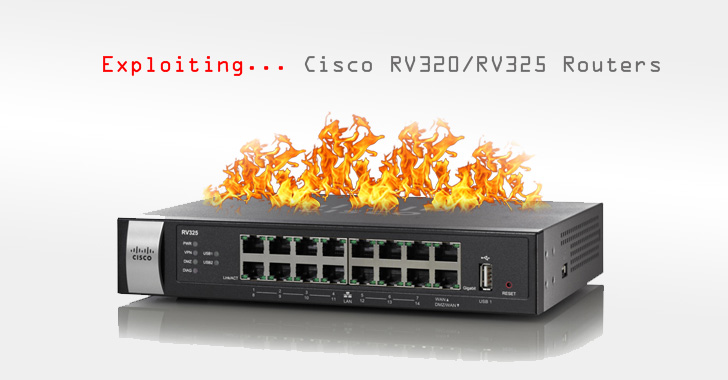 New Exploit Threatens Over 9,000 Hackable Cisco RV320/RV325 Routers Worldwide