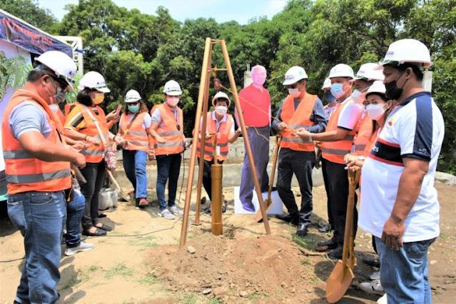 Duhatan Bridge Ground Breaking Ceremony in Calatagan, held
