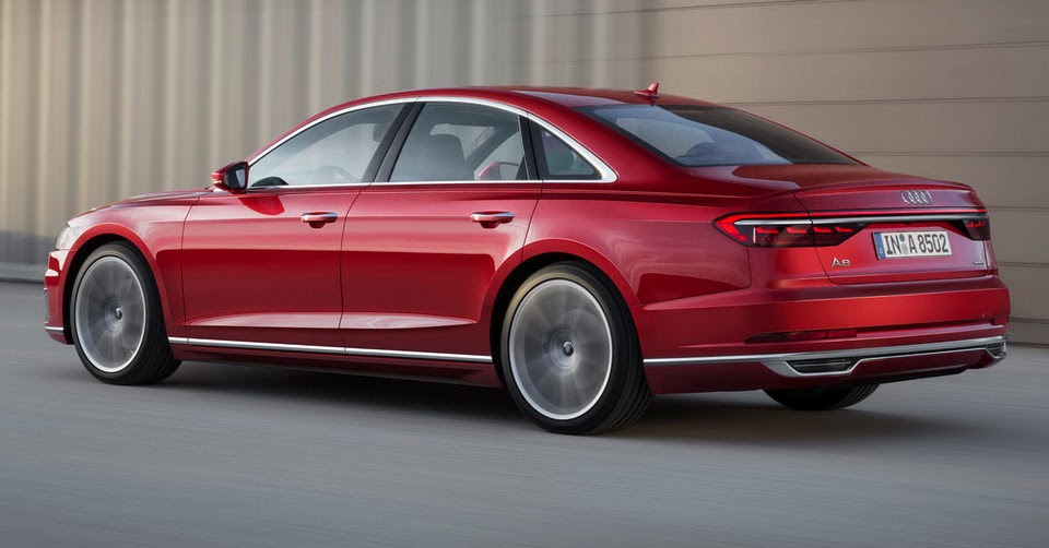 Audi Opens Order Books For New A8, Prices Start At €90,600