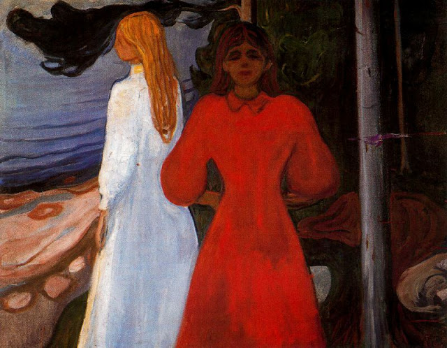 Эдвард Мунк - Красное и белое. 1900