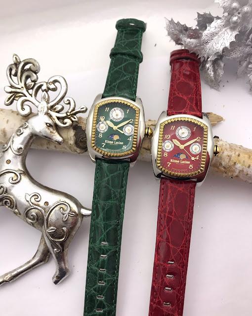 RitmoLatino MILANO リトモラティーノ ファッション 時計 腕時計 イタリア 人気 プレゼント 女性 ビタミンカラー ミラノ 蓄光 ワニ革 クロコダイル ルーナ 月 ムーンフェイズ QMLBA85GS ユニセックス 男女 クリスマス ギフト おススメ モデル QMLBA85GS QMLBA49GS  限定モデル 限定 LUNA