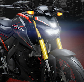 suspensi Updside Down Yamaha Xabre