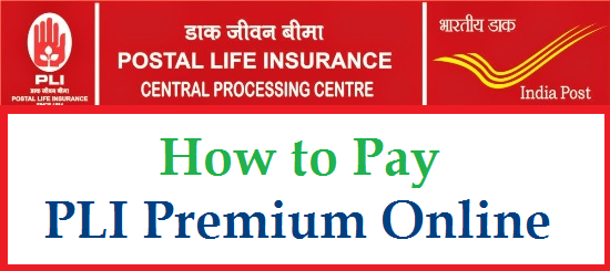 India Post is giving Online Payment fecility for Postal Life Insurance Premium | Now you can pay PLI Premium Online at http://indiapost.gov.in | Postal Insurance Customers can pay their Monthly/Quarterly/Half Yearly Premium for PLI Online by using Debit Card/ Credit Cad/ Net Banking| Step by Step Process to Pay PLI Premium Online how-to-pay-pli-postal-life-insurance-premium-online