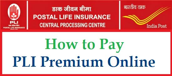 How to Pay PLI and RPLI Premium Online