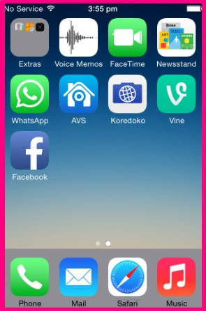 how to deactivate facebook through iphone app