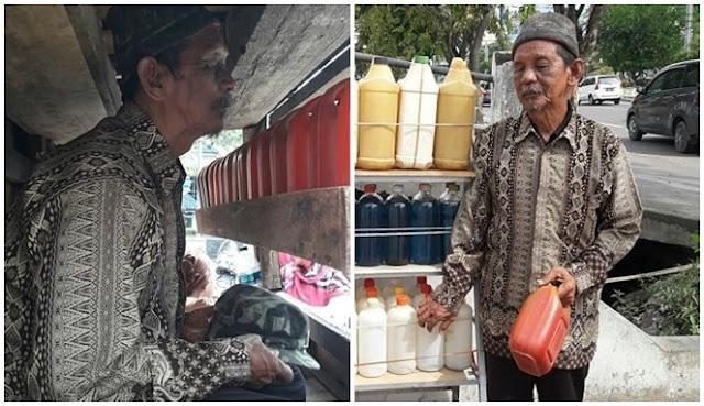 Para Kakek Renta Ini Tertipu Saat Berjualan, Tabungan Diambil hingga Dibayar Uang Palsu