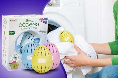 Các phân tử Oxy đã bị ion hóa cũng làm tăng độ pH trong nước, có tác dụng làm mềm tự nhiên của quả trứng giặt eco