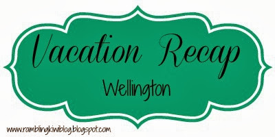 Vacation Recap: Wellington {All Whites vs Mexico FIFA 2014 Qualifier}