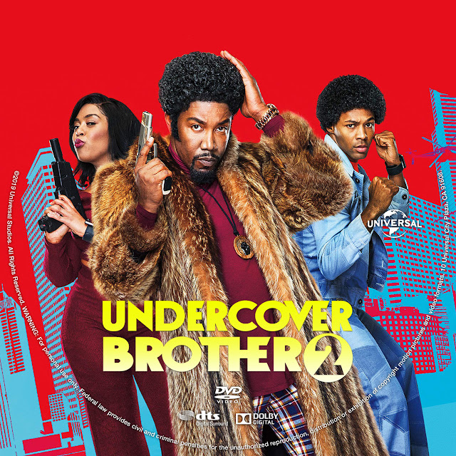 Undercover Brother 2 DVD Label